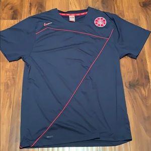 Men's Nike Dry-fit University of Arizona shirt L